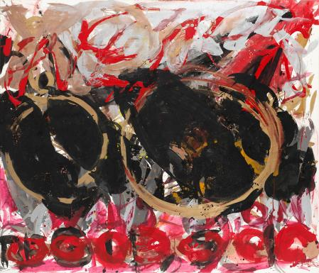 ter Hell · <strong>Age of wisdom</strong> · 2008 · 180 x 210 cm · acrylic, spray on canvas