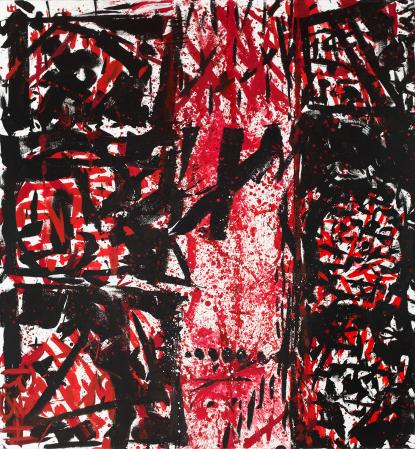 ter Hell · <strong>Visus</strong> · 2011 · 280 x 260 cm · acrylic on canvas
