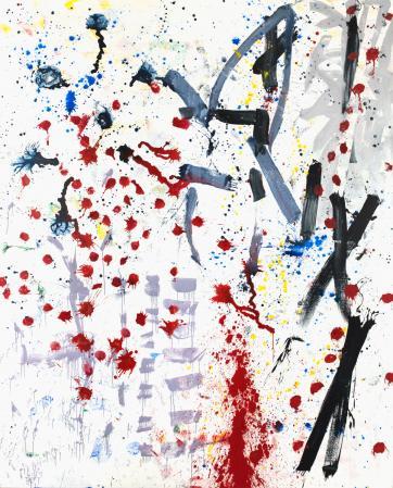 ter Hell · <strong>Holon</strong> · 2012 · 300 x 240 cm · acrylic, spray on canvas