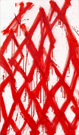 ter Hell · <strong>Eclypsoid</strong> · 2012 · 190 x 110 cm · acrylic, spray on canvas