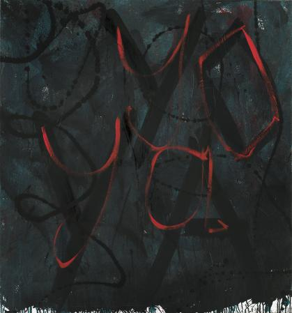 ter Hell · <strong>yo ya</strong> · 2012 · 145 x 135 cm · acrylic on canvas