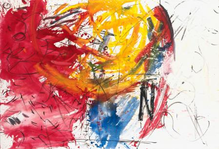 ter Hell · <strong>Widest same thing</strong> · 2013 · 150 x 220 cm · acrylic, charcoal on canvas