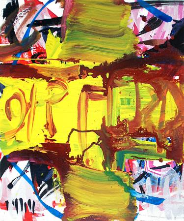 ter Hell · <strong>21 Pferd</strong> [21 Horse] · 2014 · 60 x 50 cm · acrylic on canvas