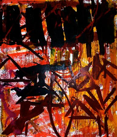 ter Hell · untitled · 2014 · 210 x 180 cm · acrylic on canvas