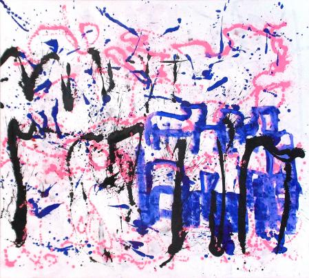 ter Hell · untitled · 2015 · 180 x 200 cm · acrylic on canvas