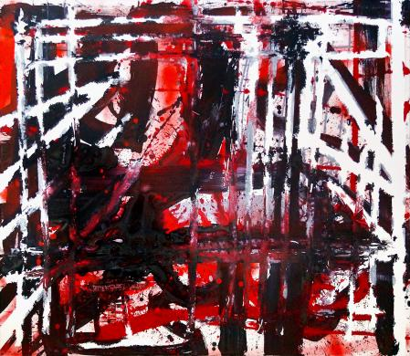ter Hell · untitled · 2016 · 130 x 150 cm · acrylic on canvas