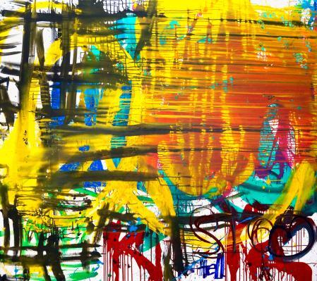 ter Hell · <strong>PR gag</strong> · 2016 · 170 x 190 cm · acrylic on canvas