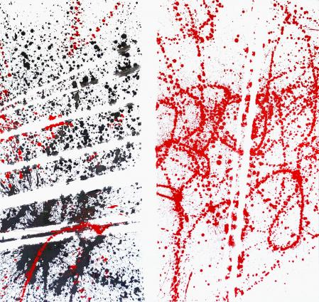ter Hell · untitled · 2016 · 175 x 165 cm · acrylic/spray on canvas